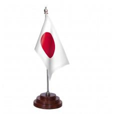 Japan Table Flag, pure sheesham wood base