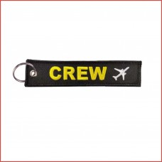 Crew Tag, Embroidery, double sided