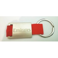 Emirates Keychain, engraving both sides, metal