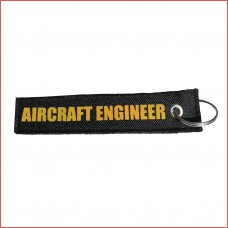 Aircraft engineer tag, printed, double sided