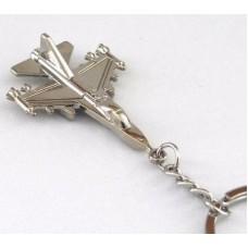F16 Keychain, metal