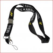 Air Sial Lanyard, metal buckle, carbon fiber garment