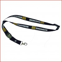 Engineer lanyard for aviation, high quality fabric, long lasting