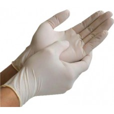 Latex examination gloves pack of 100 gloves