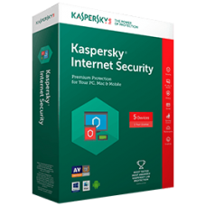 Kaspersky Internet Security 2 licenses 1 year, box pack, sealed