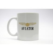 Aviator Mug, pilot gift, aviation theme