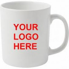 10 x Customized Mugs, printed full colour, both sides