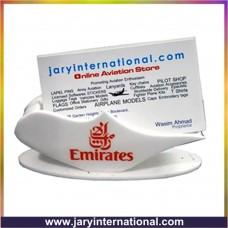 Emirates card holder, table set