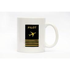 Pilot Mug, aviation theme