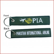 PIA tag, embroidery, both sides