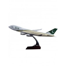 PIA B747 model 47cm size with base