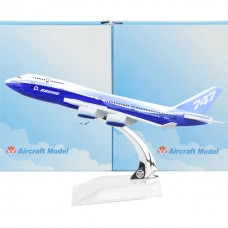 Boeing 747 Prototype, 16cm, metal, with stand