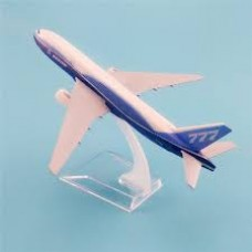 Boeing B777 Prototype, 16cm, metal with stand