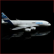 A380 in House livery with lights, 45cm, stand and landing gears