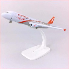 Air Arabia model, 16cm, metal, with stand