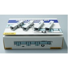 Airport Bus white version, Set of 4 Accessories AA4001 scale 1:400