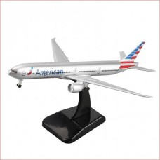American Airline B777 model, 18cm, metal with stand