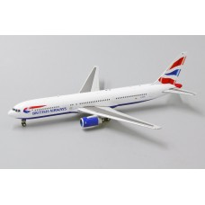 "British Airways Boeing 767-300ER ""G-BZHA"" JC wing XX4086, scale 1:400"