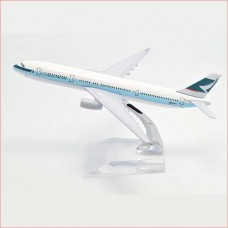 Cathay Pacific Airways, 16cm, metal, with stand