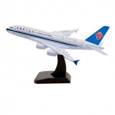 China Southern A380, 18cm, metal with stand