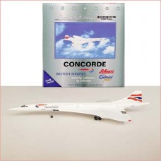 Concorde British Airways G-BOAD, scale 1:400, Gemini Jet