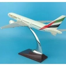 Emirates B777 Model, 32cm with stand