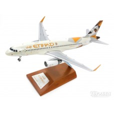 Etihad Airways Airbus A320 A6-EJA die cast metal model JC Wings XX2647 1/200
