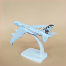 Etihad Airways, 16cm, metal, with stand