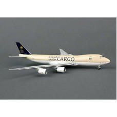 Hogan Wings 5453, Boeing 747-8F, Saudi Cargo, Nonflex Wings HZA14, 1:400