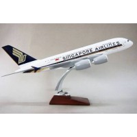 Singapore A380 model, 45cm,  with stand