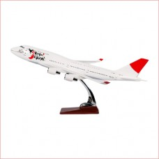 Japan Airway 747 model 47cm size with base