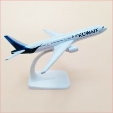 Kuwait Airways model, 16cm, metal, with stand
