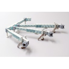 AIRPORT ACCESSORIES - AIR PASSENGER BRIDGE SET FOR A380 (LH4136 JC WINGS 1:400)