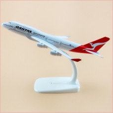 Australian Qantas model, 16cm, metal, with stand