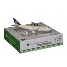 Saudia Boeing 747-400 scale 1:500 brand sky500 reg HZ-AIU
