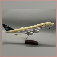 Saudia Airline models with lights, 45cm, stand, Landing gears