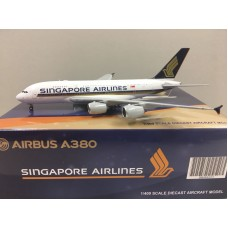 Singapore Airlines AIRBUS A380 9V-SKA (JC Wings BBOX4005) 1:400