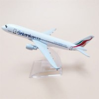 Sri Lankan Airways, 16cm, metal, with stand