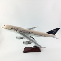 Saudia B747 45cm size with base