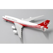 "Turkey Government Boeing 747-8i ""TC-TRK"" (JC Wing LH4132) scale 1:400"