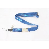 Airbus A320 NEO Lanyard, metal buckle with airbus logo engraved