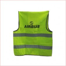 Airbus safety reflector jacket, 2 front pocket and zip