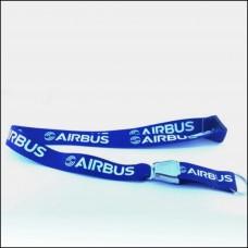 Airbus Lanyard with airbus logo engraved