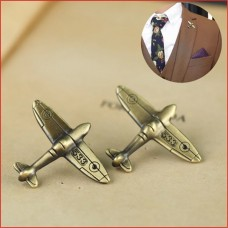 Alloy Antique Bronze Color Airplane Retro Air Plane Brooches Pins and Brooch Badge Lapel Pins For Men