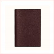 Passport Cover in pure cow leather, inside pockets for boarding card