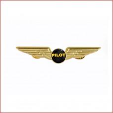 Pillot Wing, 8cm wide, Golden colour