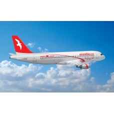 Air Arabia picture Vinyl Sticker, printed with white background, waterproof