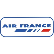 Air France Logo vinyl sticker, transparent, waterproof, 12 inch wide
