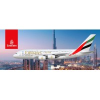 Emirates picture, waterproof vinyl, 15 inch wide