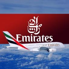 Emirates Vinyl Sticker, printed, waterproof, 15 inch wide